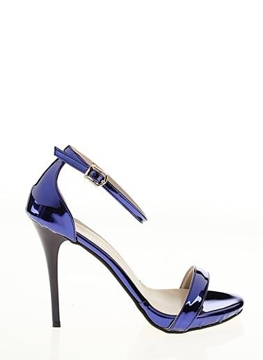 D by Divarese İnce Topuklu Ayakkabı Lacivert